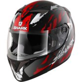 SHARK S700-S Oxyd Pinlock Black / Red / Silver