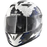 SHARK S700-S Squad Pinlock White / Black / Blue