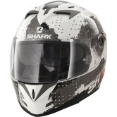 SHARK S700-S Squad Pinlock White / Black / Red