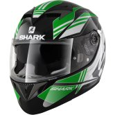 SHARK S700-S Tika Pinlock Black / Green / White
