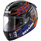 SHARK Race-R Pro Replica Lorenzo Catalunya GP 2019 Black / Red / Blue