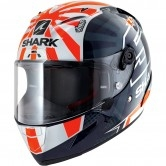 SHARK Race-R Pro Replica Zarco 2019 Blue / White / orange