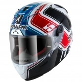 SHARK Race-R Pro Replica Zarco GP de France White / Blue / Red