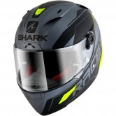 SHARK Race-R Pro Sauer Mat Anthracite / Black / Yellow