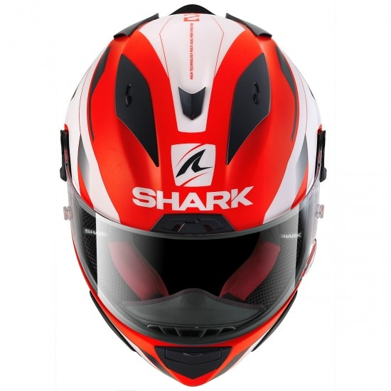 Casque SHARK Race-R Pro Sauer Mat Red / Black / White