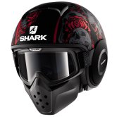 SHARK Raw / Drak Sanctus Mat Black / Red / Anthracite