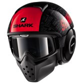 SHARK Drak Tribute RM Black / Red / Anthracite