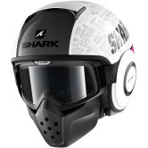 SHARK Drak Tribute RM White / Violet / Silver