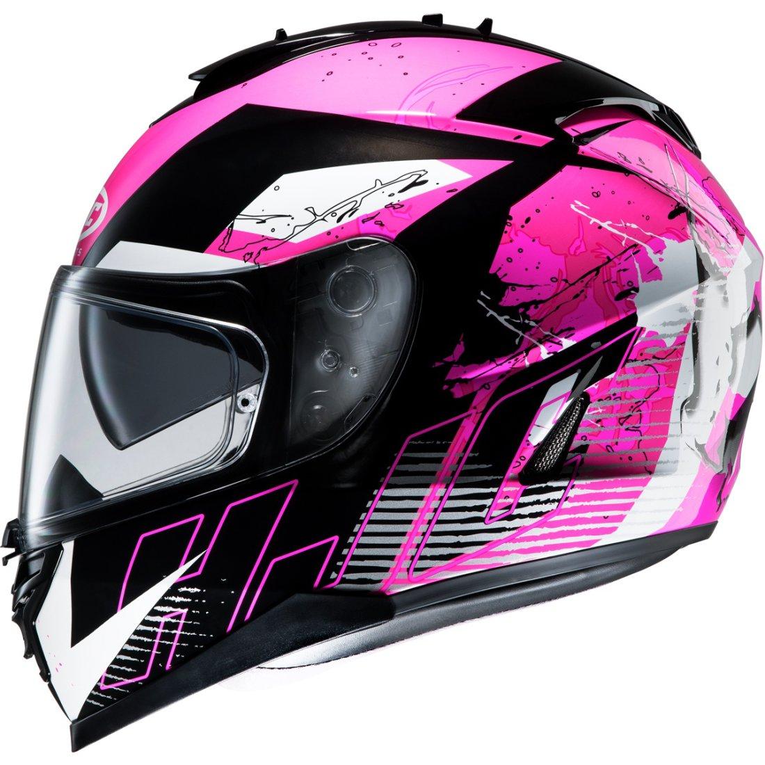 hjc is 17 pink rocket mc8 helmet motocard. Black Bedroom Furniture Sets. Home Design Ideas