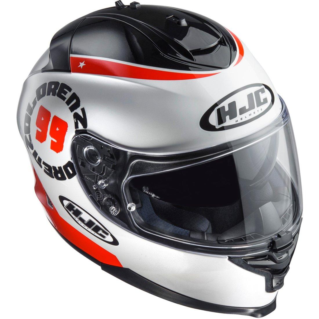 hjc is 17 lorenzo angel mc 1 helmet motocard. Black Bedroom Furniture Sets. Home Design Ideas