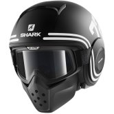 SHARK Raw / Drak 72 Mat Black / White / Black
