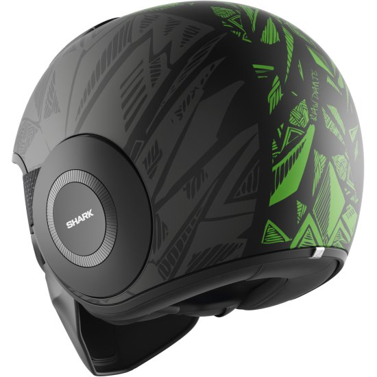 Casco SHARK Drak Dante Mat Black / Green / Anthracite