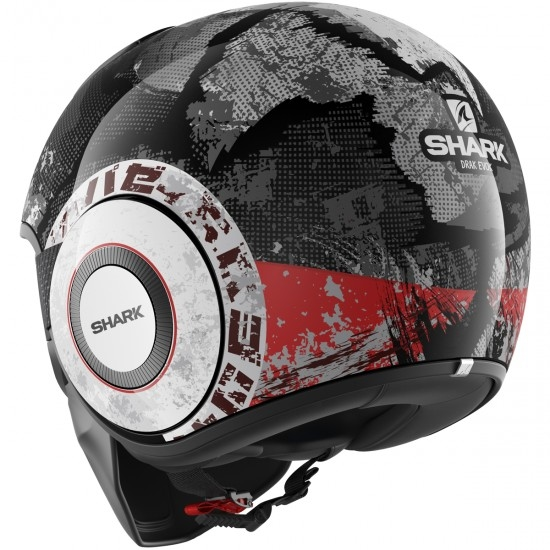 Casco SHARK Drak Evok Black / Red / Anthracite