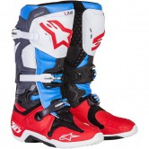 ALPINESTARS Tech 10 Bomber LE Red / Aqua / Anthracite / White