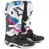 ALPINESTARS Tech 10 Vision LE Black / Grey / Fuchsia / Aqua / Green