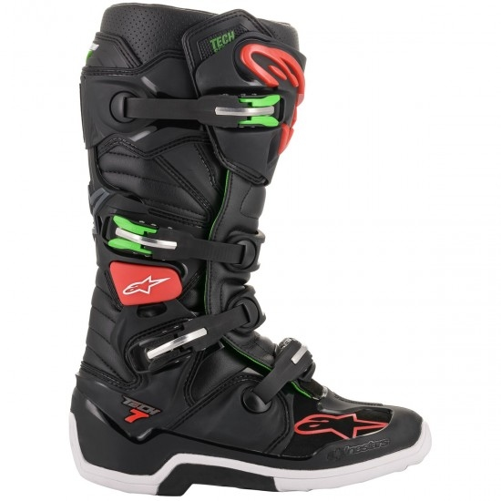 Botas ALPINESTARS Tech 7 Black / Red / Green