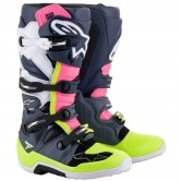 Tech 7 Dark Grey / Dark Blue / Pink / Fluo
