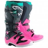 ALPINESTARS Tech 7 Indy Vice LE Gray / Pink / Turquoise