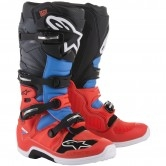 ALPINESTARS Tech 7 Red Fluo / Cyan Gray / Black