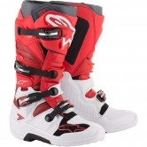 ALPINESTARS Tech 7 White / Red / Burgundy