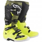 ALPINESTARS Tech 7 Yellow Fluo / Military Green / Black