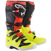 ALPINESTARS Tech 7 Yellow Fluo / Red Fluo / Gray / Black