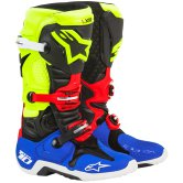 ALPINESTARS Tech 10 A1 Special Edition Blue / Yellow Fluo / Red