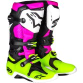 ALPINESTARS Tech 10 Radiant LE Black / Pink Fluo / Yellow Fluo