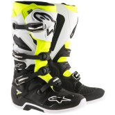 ALPINESTARS Tech 7 Black / White / Yellow Fluo