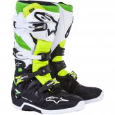 ALPINESTARS Tech 7 Black / White / Green Fluo / Yellow Fluo