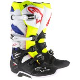 ALPINESTARS Tech 7 White / Yellow Fluo / Navy Blue