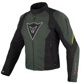 DAINESE Laguna Seca D-Dry Black / Dark Gull Gray / Yellow Fluo