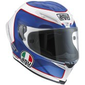 AGV Corsa Horice Pearl White / Blue / Red