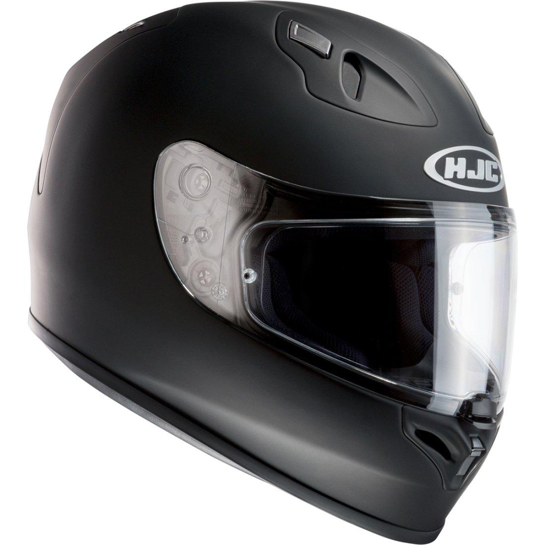 Hjc Fg 17 >> Hjc Fg 17 Matt Black Helmet Motocard