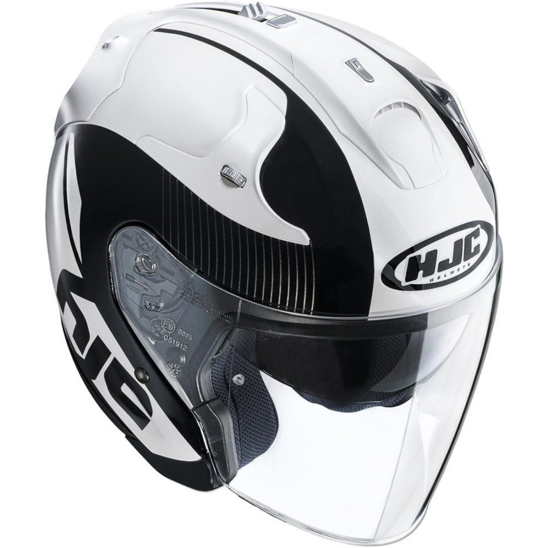 hjc fg jet acadia mc5 helmet motocard. Black Bedroom Furniture Sets. Home Design Ideas