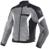 DAINESE Air Crono Tex Anthracite / Black / White
