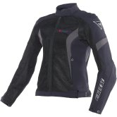 DAINESE Air Crono Tex Lady Black / Dark Gull Gray