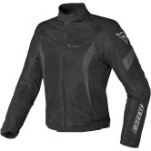 DAINESE Air Crono Tex Black / Dark Gull Gray