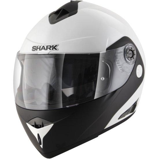 Casco SHARK Openline D-Tone White / Black / White
