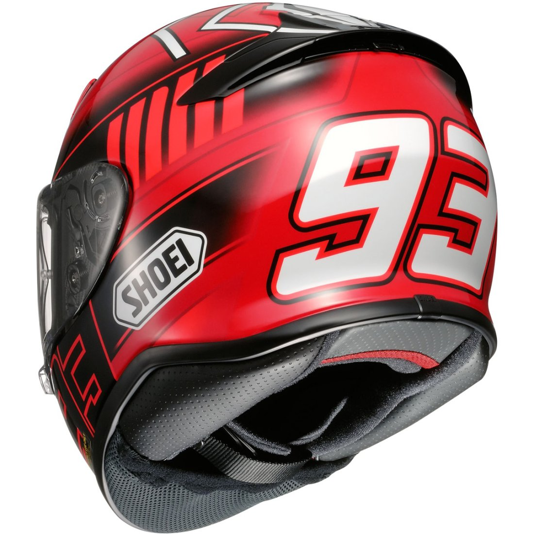 shoei nxr marquez 3 tc 1 helmet motocard. Black Bedroom Furniture Sets. Home Design Ideas