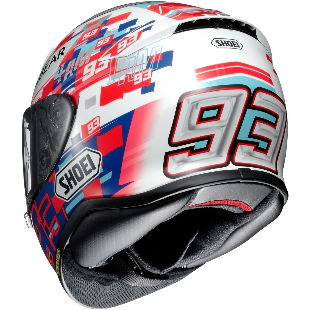 shoei nxr marquez power up tc 1 helmet motocard. Black Bedroom Furniture Sets. Home Design Ideas
