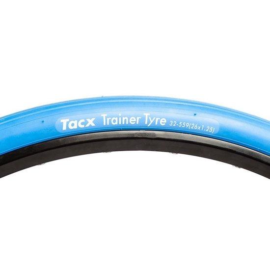 "Llanta / Cubierta TACX Trainer Tyre MTB 26"" T-1395 Blue"