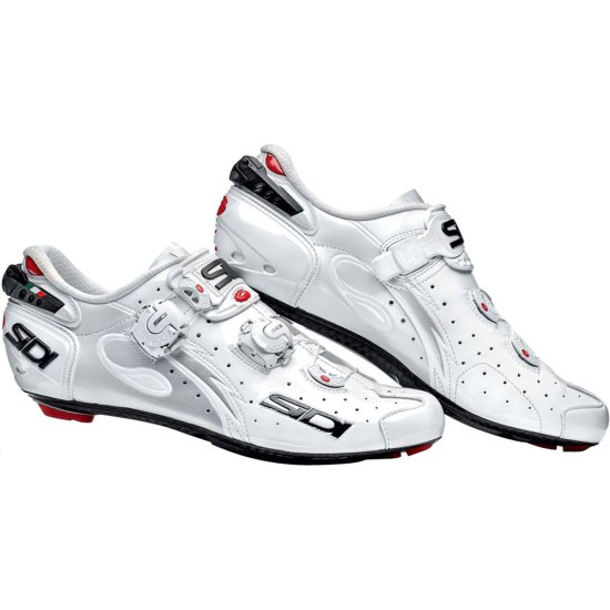 Chaussures SIDI Wire Carbon 2016 Vernice White
