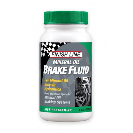 FINISH LINE Mineral Brake Fluid 4oz (120ml) Workshop
