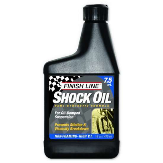 Werkstatt FINISH LINE Shock Oil 7.5wt 16oz (475ml)