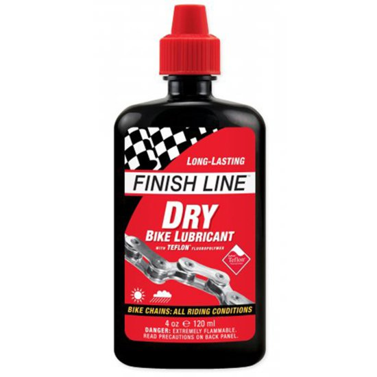 FINISH LINE Dry Lube Teflon 4oz (120ml) Workshop