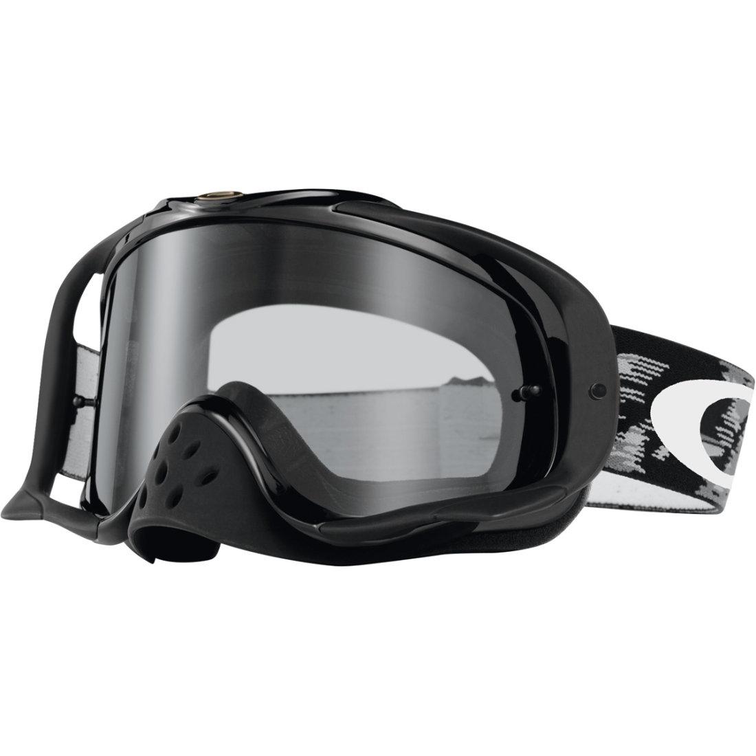 Lunettes Clear Crowbar Mx Jet Motocard Black Speed · Masque Oakley e2Y9IWEDH