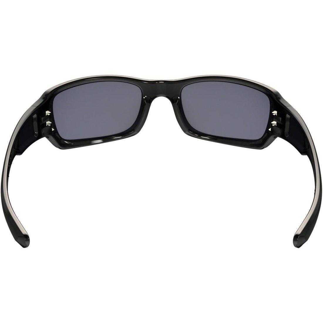 Máscara   Óculos OAKLEY Fives Squared Polished Black   Grey · Motocard 57a635bc29