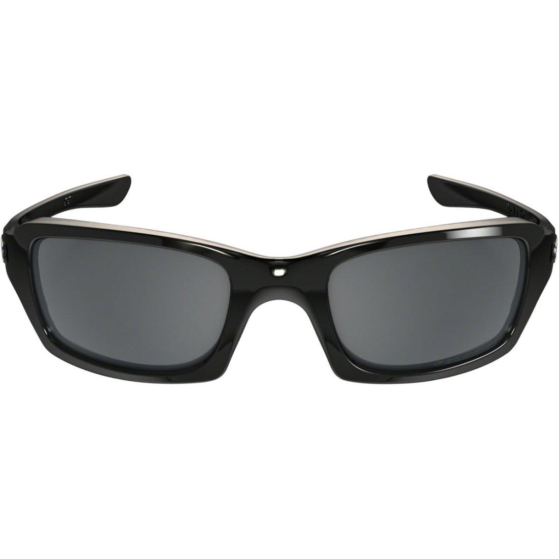 46f325197b OAKLEY Fives Squared Polished Black   Black Iridium Polarized Mask   Goggle
