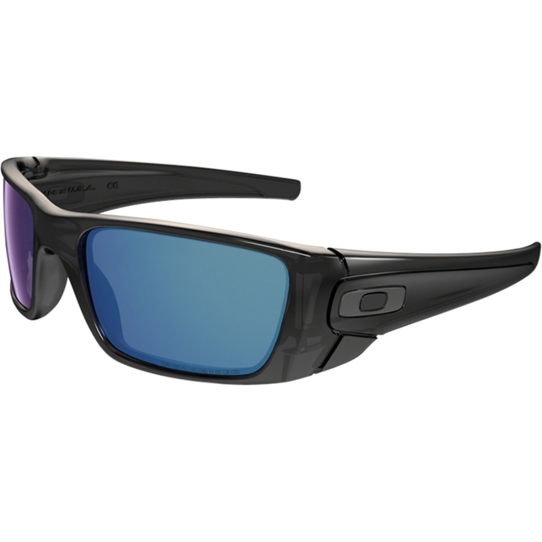 b4df4cfab1 OAKLEY Fuel Cell Polished Black   Ice Iridium Polarized